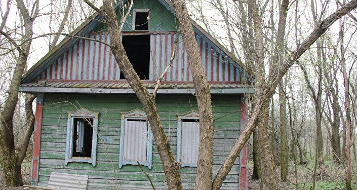 Белорус умер  около  станции вЧернобыльской зоне