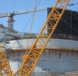 Строительство БелАЭС, архивное фото