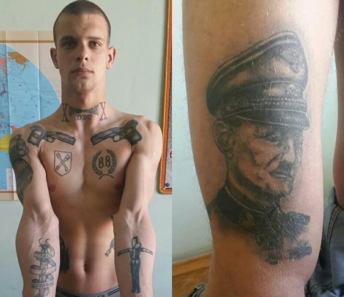 фото сс татуировки