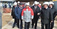 Глава МАГАТЭ посещает строительную площадку БелАЭС в Островце