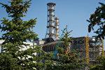 Четвертый аварийный энергоблок на Чернобыльской АЭС.