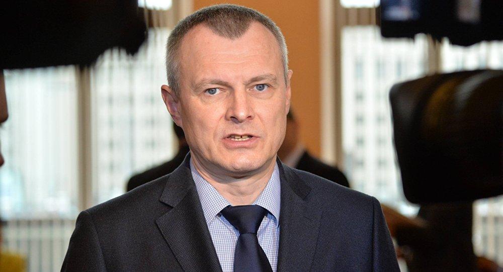 Министр внутренних дел Беларуси Игорь Шуневич в парламенте