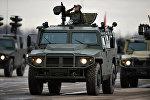 Российские бронеавтомобили Тигр. Архивное фото