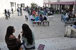 Студенты Тишринского университета в Сирии