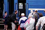 Посадка на поезд, Белорусская железная дорога