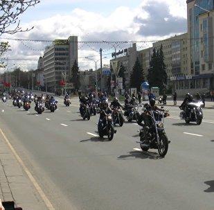 Мотоциклы, музыка, Шуневич: в Минске открыли H.O.G. Rally Minsk