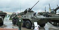 Военная техника в парке Патриот