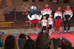 СПУТНИК_Немов сделал сальто на презентации новой формы олимпийской сборной РФ