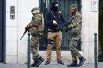 Сотрудники полиции Бельгии