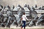 Стрит-арт на Аэродромной