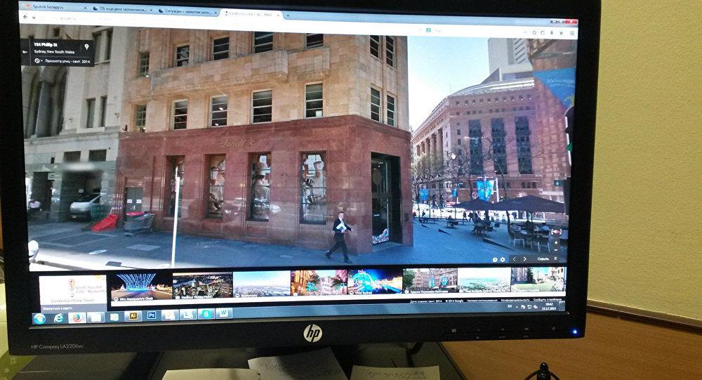Изображение магазина-кафе Lindt с сервиса Google Street View