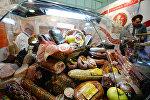 Белорусские продукты на выставке в Москве. Архивное фото