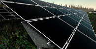 Солнечные батареи электростанции. Архивное фото