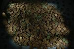 Клад монет, архивное фото
