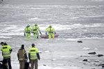 Транспортный вертолет упал в Северном море у западного побережья недалеко от города Берген