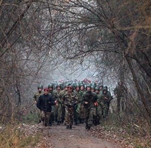 Белорусские военнослужащие