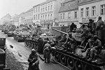 Советские танки во время подготовки к штурму столицы Германии