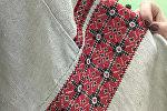 Вышитая рубашка из сеннинского костюма