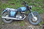 Найденный в Молодечненском районе мотоцикл