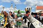 Открытие форума уличных театров в Минске