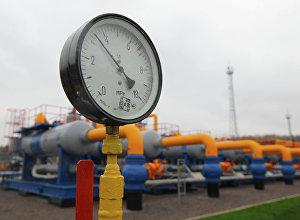Манометр газопровода, архивное фото
