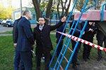 Председатель СК Иван Носкевич на месте происшествия
