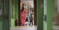 Детское отделение больницы, архивное фото