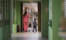 Детское онкологическое отделение городской больницы