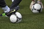 Футбольная тренировка. Архивное фото