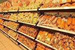 Хлебный отдел супермаркета