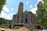Строительство главной соборной мечети в Минске на улице Грибоедова (в районе проспекта Победителей)