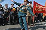 Ветераны Великой Отечественной войны в Минске, архивное фото