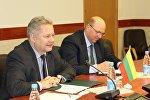 Посол Литвы в Беларуси Эвалдас Игнатавичюс