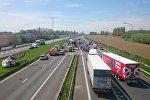 ДТП на границе Бельгии и Франции