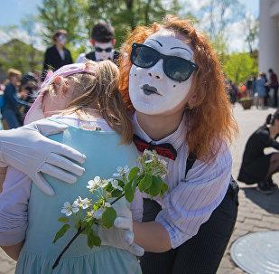 Форум уличных театров в Минске