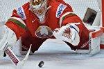 Вратарь сборной Беларуси Кевин Лаланд