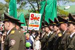 Празднование Дня Победы в Бресте