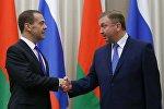 Заседание Совета министров Союзного государства России и Беларуси