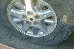 Простреленное колесо