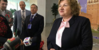 Глава Мининформа Лилия Ананич Беларуси на семинаре Парламентского собрания Союза Беларуси и России