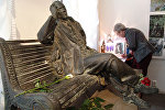 Макет памятника Михаилу Булгакову