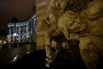 Световая инсталляция на дворце Хофбург в Вене, Австрия