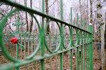 Сельское кладбище, архивное фото