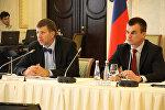 Министры юстиции на коллегии в Санкт-Петербурге