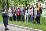 Ректор БГУ Сергей Абламейко спел Купалинку с хором БГУ