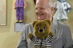 Владимир Воронков и персонаж Калыханки медвежонок Топа