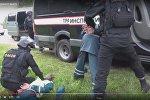 Задержание сотрудника транспортной инспекции