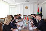 Китайская делегация в Минюсте