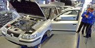 Сборка иранских автомобилей. Архивное фото