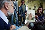 Один из планов реставрации костела в Вишнево